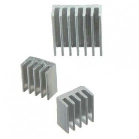 Heat Sink for Raspberry Pi - 3 PCS - Silver