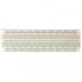 Raspberry Pi 2 GPIO Breadboard 830 Point Solderless - MB-102 - White - 2