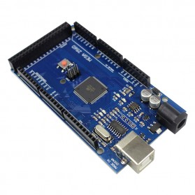 Arduino Mega 2560 Rev3 Mainboard with USB Cable - ATmega2560-16AU - Blue - 3