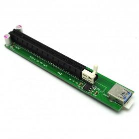 PCI-E Riser 1x to 16x SATA Power USB 3.0 for Bitcoin Miner - 2