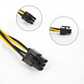 Kabel Power PSU SATA ke 6PIN ATX 18 AWG for Bitcoin Miner - 2