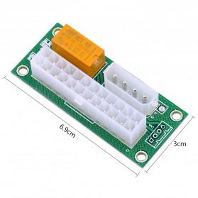 CHIPAL ATX Molex Power Supply 24PIN to 4PIN Dual PSU for Bitcoin Miner - 2
