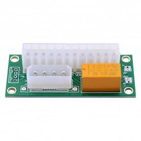 CHIPAL ATX Molex Power Supply 24PIN to 4PIN Dual PSU for Bitcoin Miner - 3