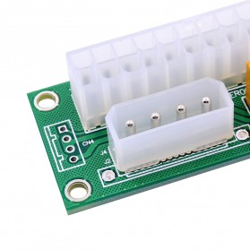 CHIPAL ATX Molex Power Supply 24PIN to 4PIN Dual PSU for Bitcoin Miner - 4