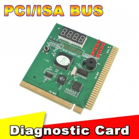 PCI & ISA Motherboard Debug Tester Diagnostics Screen Display 4 Digit