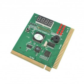 PCI & ISA Motherboard Debug Tester Diagnostics Screen Display 4 Digit - 2