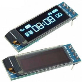 Module OLED Display 128x32 Pixel 0.19 Inch SSD1306 for Arduino