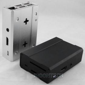 Aluminium Case for Raspberry Pi 3 Model B+ - V2 - Black - 3