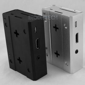 Aluminium Case for Raspberry Pi 3 Model B+ - V2 - Black - 4