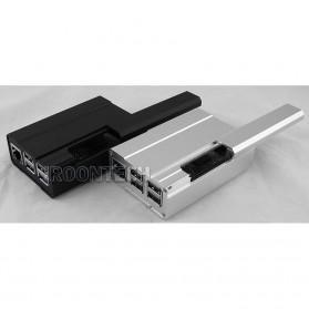 Aluminium Case for Raspberry Pi 3 Model B+ - V2 - Black - 6