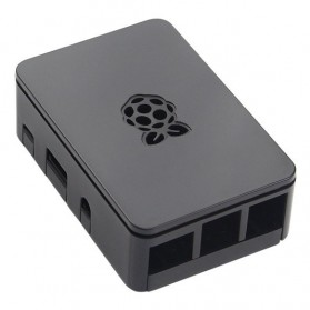 Plastic Shell Case for Raspberry Pi 3 Model B+ - Black
