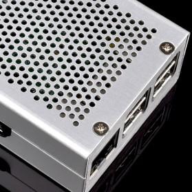 Aluminium Case for Raspberry Pi 3 Model B+ - Silver - 5