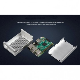 Aluminium Case for Raspberry Pi 3 Model B+ - Silver - 6
