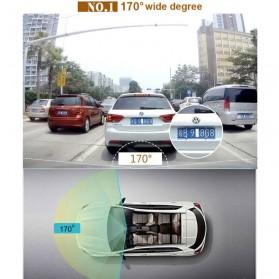 Dash Cam Kamera DVR Mobil WIFI Wide Angel 170 Degre 1080P - V24 - Black - 5