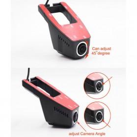 Dash Cam Kamera DVR Mobil WIFI Wide Angel 170 Degre 1080P - V24 - Black - 6