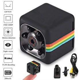 FGHGF Car Mini DV DVR Camera 1080P Full HD Nightvision - SQ11 - Black