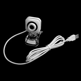 Bejoy Webcam Desktop Laptop Video Conference 360 Degree 480P - Q360 - White - 5