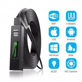 DDCAMERA Kamera Endoscope Wireless Waterproof HD - AN100A - Black