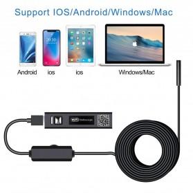 DDCAMERA Kamera Endoscope Wireless Waterproof HD - AN100A - Black - 2
