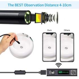 DDCAMERA Kamera Endoscope Wireless Waterproof HD - AN100A - Black - 6