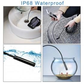 DDCAMERA Kamera Endoscope Wireless Waterproof HD - AN100A - Black - 7