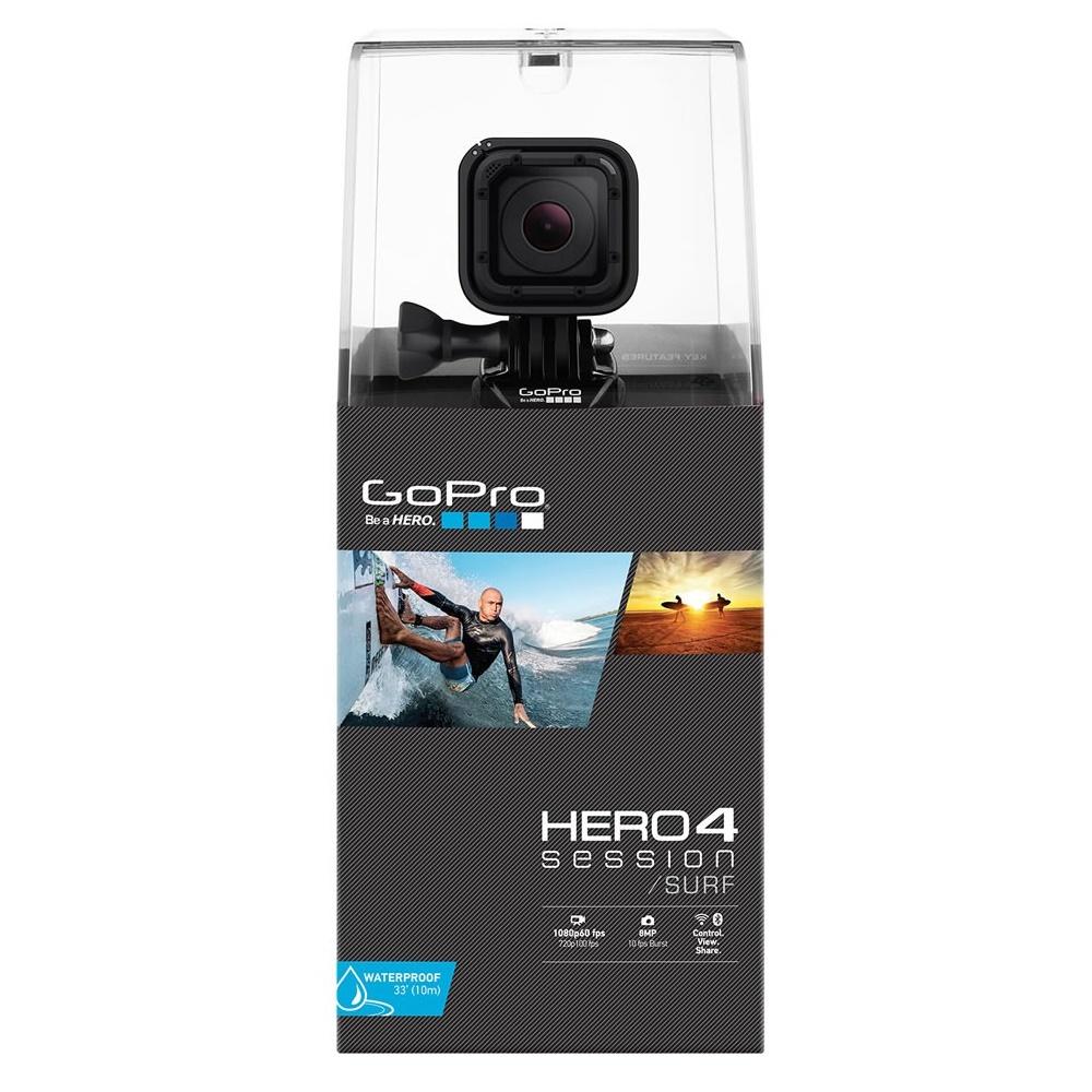 gopro hero 4 session standard edition action camera black. Black Bedroom Furniture Sets. Home Design Ideas