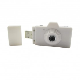 Eazzzy Mini USB Digital Camera 2MP - White