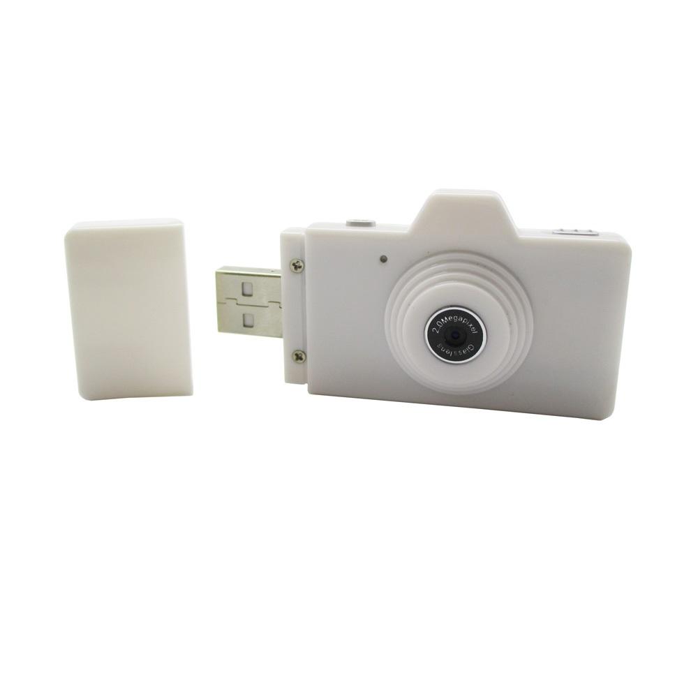 eazzzy mini usb digital camera 2mp white. Black Bedroom Furniture Sets. Home Design Ideas