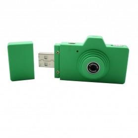 Eazzzy Mini USB Digital Camera 2MP - Green - 1
