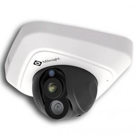 Milesight Network IR Mini Dome Camera 2MP - MS-C3582-P - White