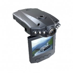 HOSEKI Portable Car 100M 720P HD DVR 2,4 Inch TFT LCD Screen Model (VZ-CD3103) - Black