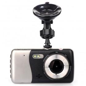 Baco Vehicle Black Box Car DVR Camera Recorder Full HD 1080P 4 Inch - H85 - Black