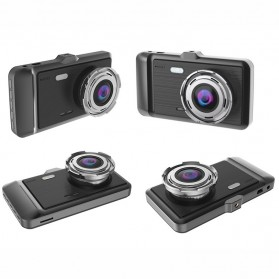 Baco Car DVR Kamera Mobil 1296P with Rear View Camera - GT500 - Black - 2