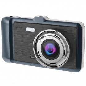 Baco Car DVR Kamera Mobil 1296P with Rear View Camera - GT500 - Black - 6