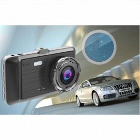 Baco Car DVR Kamera Mobil 1296P with Rear View Camera - GT500 - Black - 9