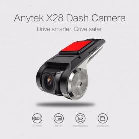 BACO Car DVR Kamera Mobil Full HD 720P - X28 - Black - 4