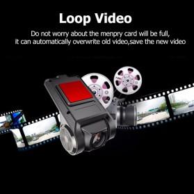 BACO Car DVR Kamera Mobil Full HD 720P - X28 - Black - 5