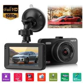 BACO Car DVR Kamera Mobil 1080P - A78 - Black