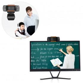 BACO HD Webcam Desktop Laptop with Microphone Video Conference 720P - U801 - Black - 3