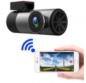 Kamera Mobil - BACO Kamera Mobil Car DVR Dash Cam 1080P WIFI - A1 - Black