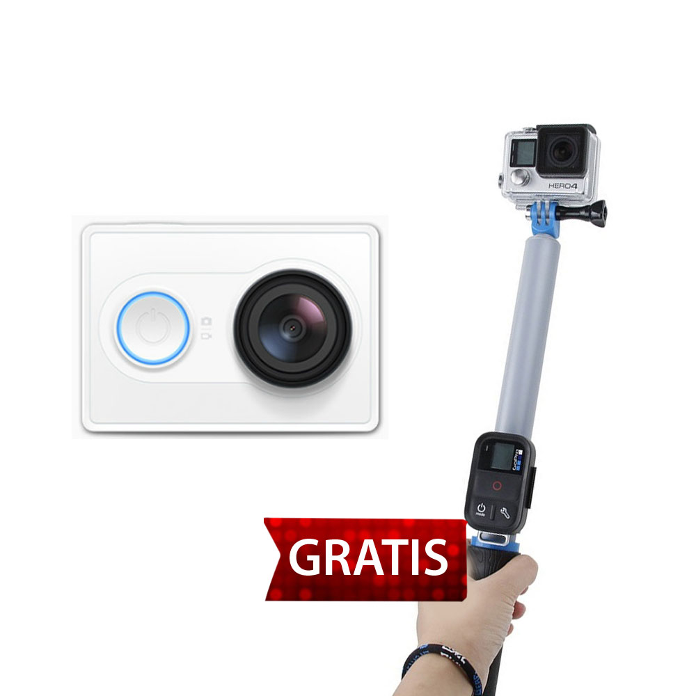 ... Xiaomi Yi Action Camera GRATIS TMC Monopod Floating Extension Pole with Wireless Remote Control Slot 14 ...
