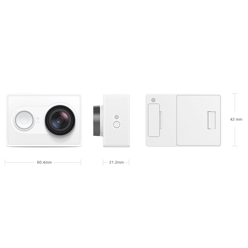 ... Xiaomi Yi Travel Edition with Monopod & Bluetooth Remote - White - 6 ...