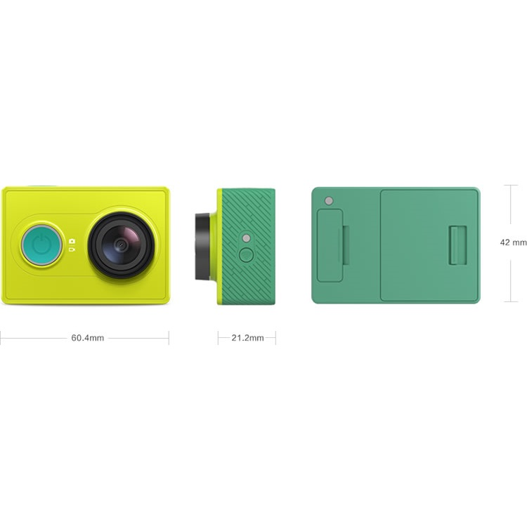 ... Xiaomi Yi Travel Edition with Monopod & Bluetooth Remote - Green - 6 ...