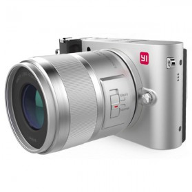 Xiaomi Yi M1 Mirrorless Digital Camera 12-40mm F3.5-5.6 Lens & 42.5mm F1.8 Lens - Silver
