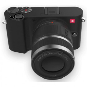 Xiaomi Yi M1 Mirrorless Digital Camera 12-40mm F3.5-5.6 Lens & 42.5mm F1.8 Lens - Black - 2