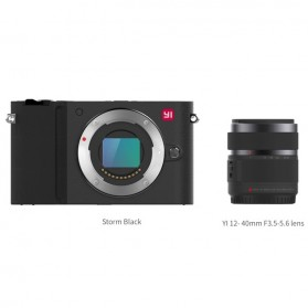 Xiaomi Yi M1 Mirrorless Digital Camera 12-40mm F3.5-5.6 Lens & 42.5mm F1.8 Lens - Black - 7