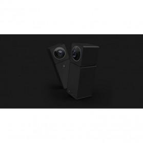 Xiaomi Hualai Xiaofang 1080P Dual Lens VR 360 Degree Smart CCTV - QF3 - Black - 2