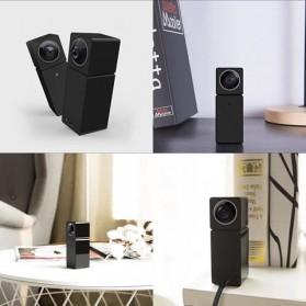 Xiaomi Hualai Xiaofang 1080P Dual Lens VR 360 Degree Smart CCTV - QF3 - Black - 5