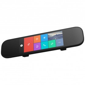 Xiaomi Mijia Smart Rearview Mirror Kaca Spion Kamera DVR 1080P - ZNHSJ01BY - Black