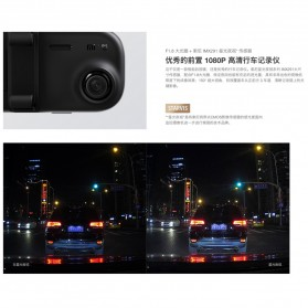 Xiaomi Mijia Smart Rearview Mirror Kaca Spion Kamera DVR 1080P - ZNHSJ01BY - Black - 4
